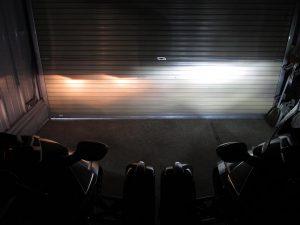 LED後ろから